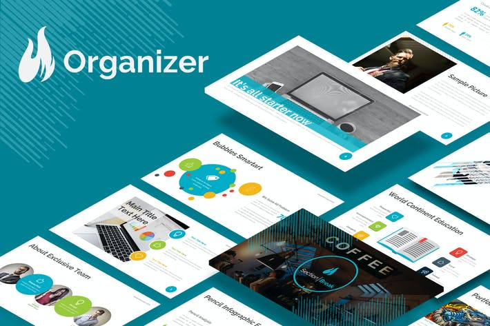 Cover Image For Organizer - Google Slides Template