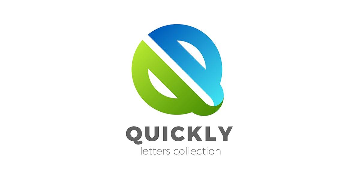 Download Letter Q Logo design 3D Ribbon style by Sentavio