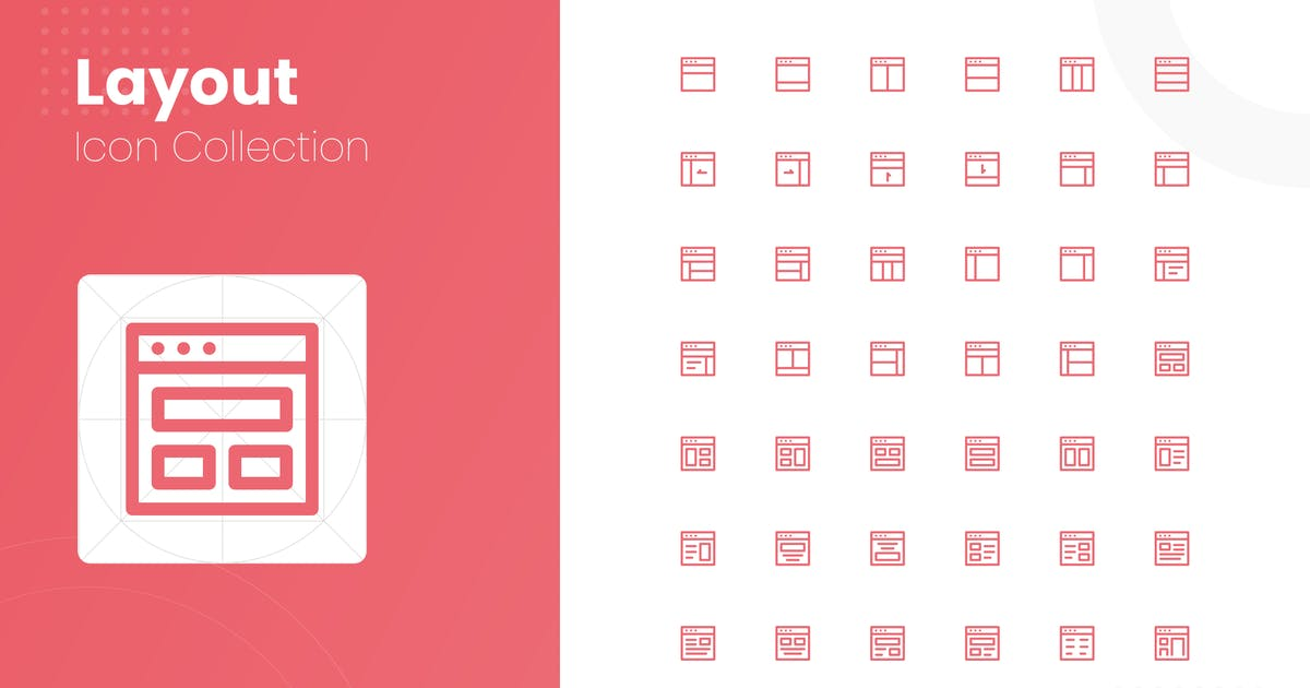 Download 48 Layout Icon Collection by studiotopia