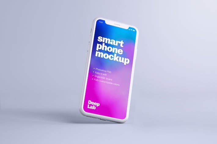 iPhone 11 Pro Clay Mockup