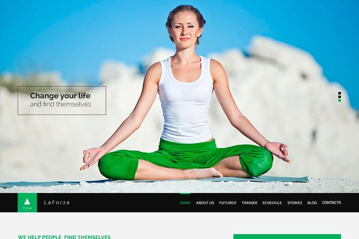 Thumbnail for LaFORZA - Sport, Fitness & Yoga PSD