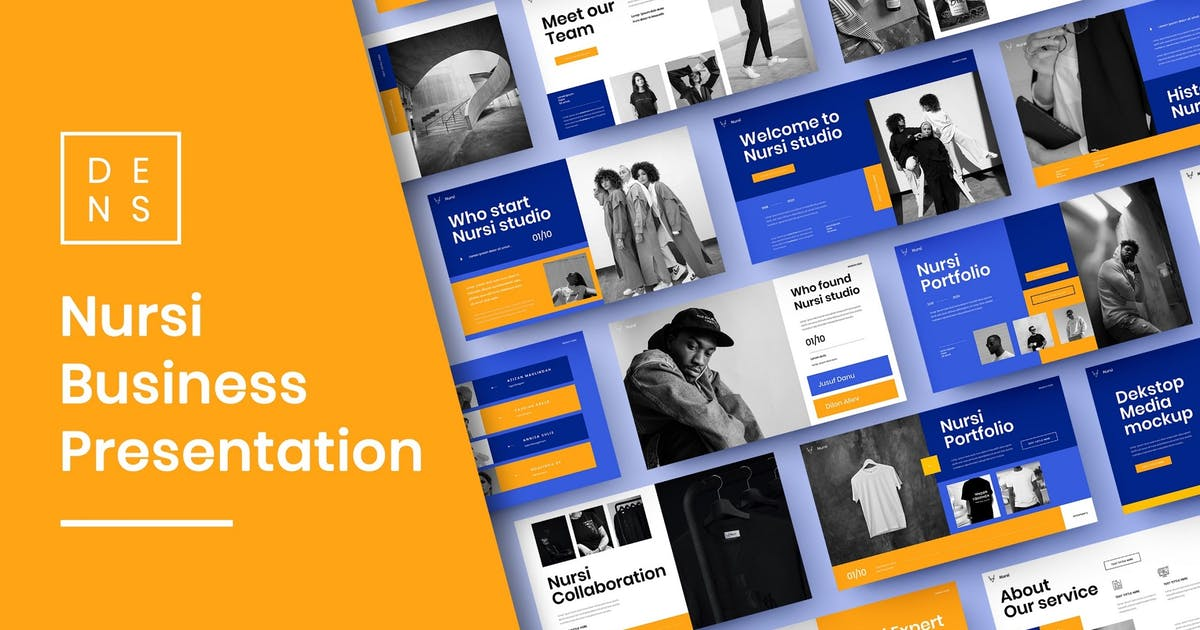Download Nursi – Business PowerPoint Template by DensCreativeStudio