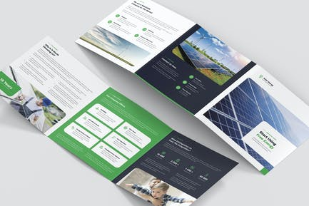 Brochure – Solar Energy Tri-Fold Square