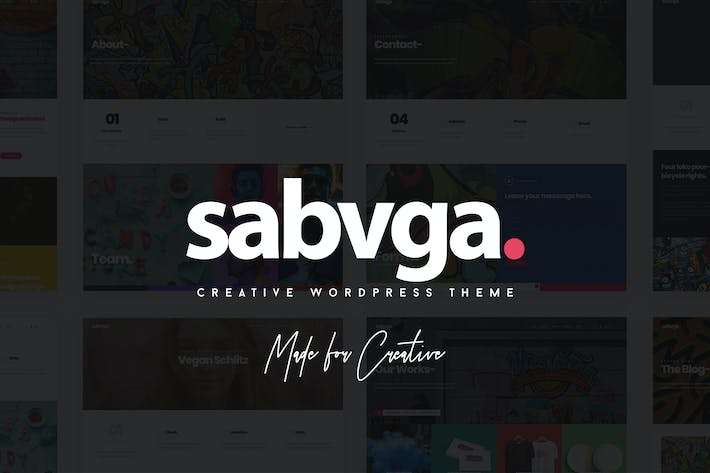 Thumbnail for Sabvga - Modern & Creative Portfolio Theme