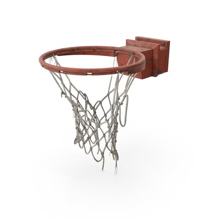 Basketball Net Ripped