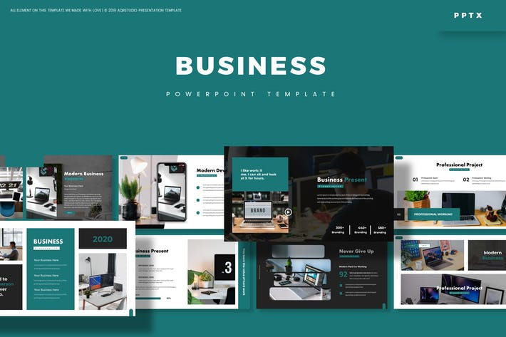 Thumbnail for Business - Powerpoint Template
