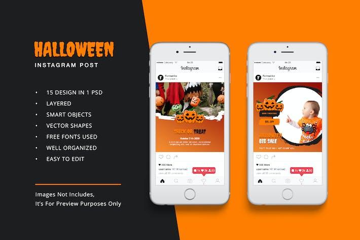 Thumbnail for Halloween Instagram Post Banner