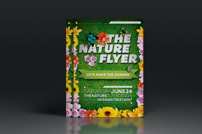 The Nature Flyer or Poster