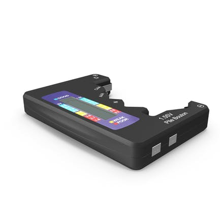 Battery Tester Black