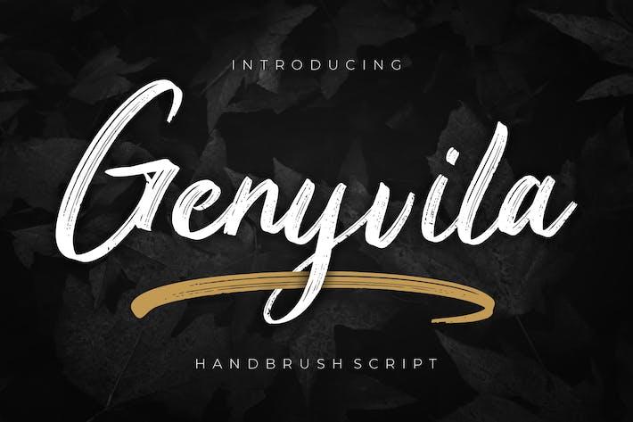 Thumbnail for Genyvila Handbrush Script