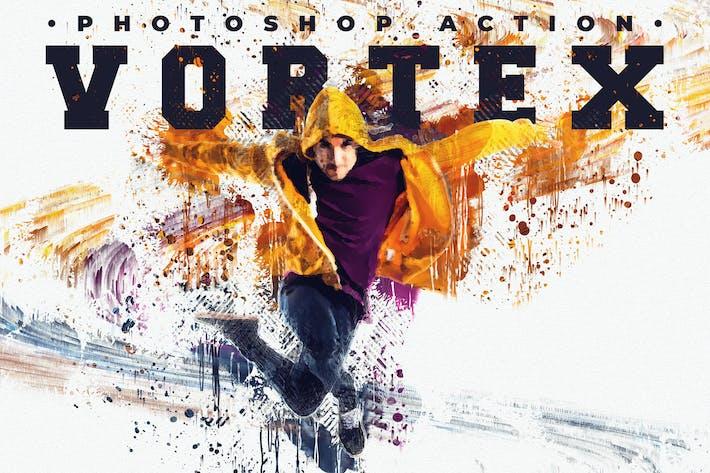 Thumbnail for Vortex - Художественный Photoshop действие