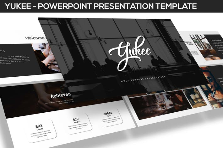 Thumbnail for Yukee - Multipurpose Powerpoint Template