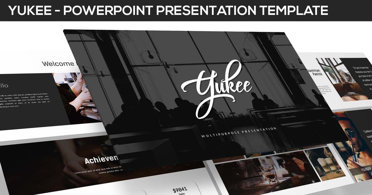 Download Yukee - Multipurpose Powerpoint Template by inspirasign