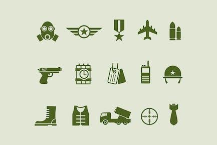 15 Armee- und MilitärIcons