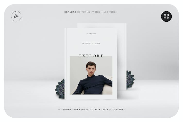 Explore Editorial Fashion Lookbook