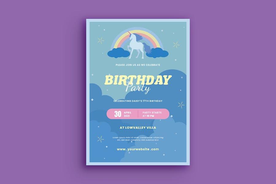 Geburtstagseinladung
