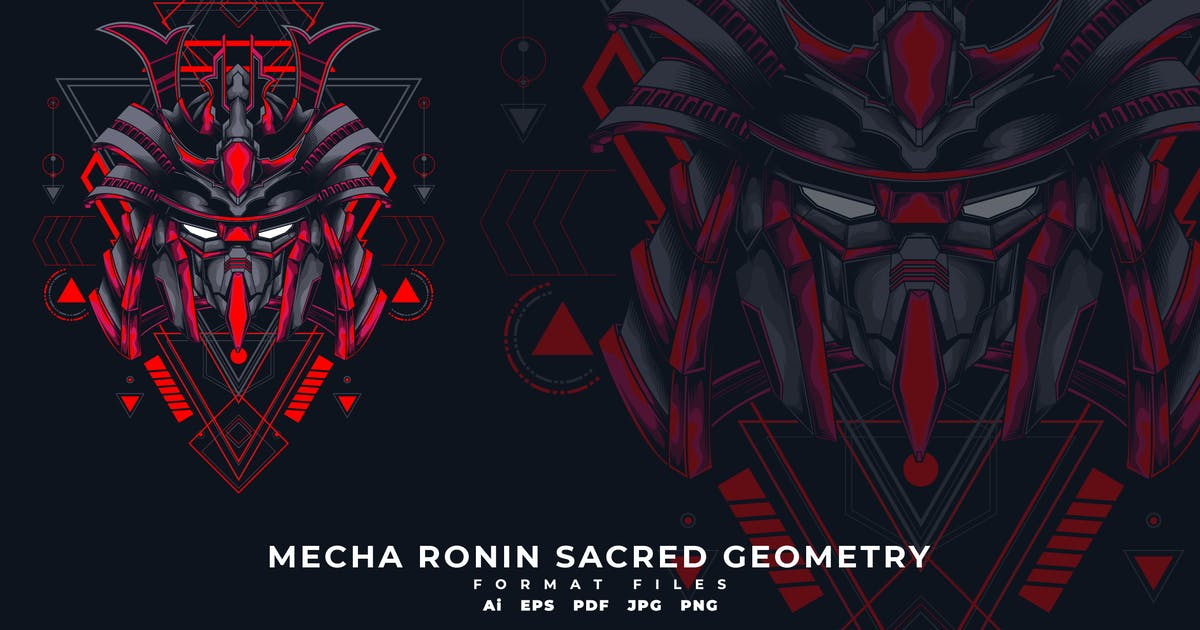 Download Mecha Ronin Sacred Geometry by SecondSyndicate