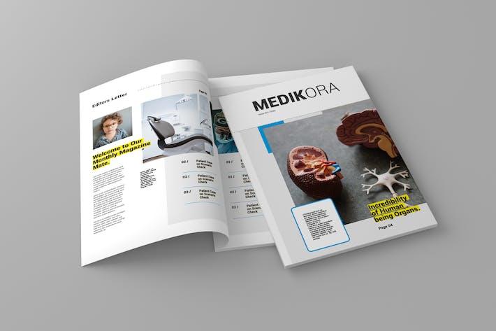 Thumbnail for Medikora - Magazine Template