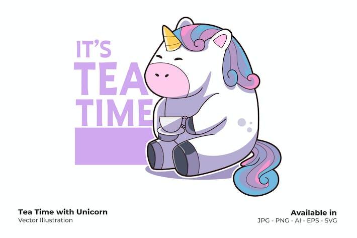 Tea Time with Unicorn