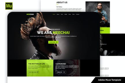Mellie - Music Muse Template