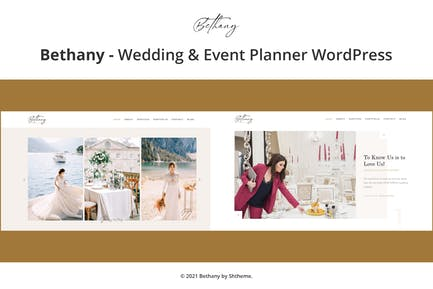Bethany - Wedding & Event Planner WordPress