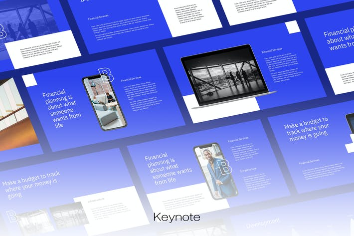 Thumbnail for Biznes - Шаблон Keynote по цифровому маркетингу