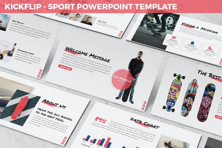 Kickflip - Sport Powerpoint Template