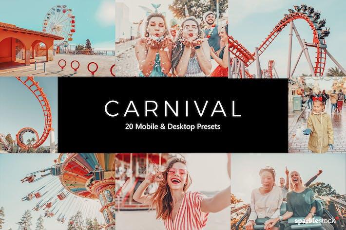 Thumbnail for 20 пресетов карнавала Lightroom и LUTS