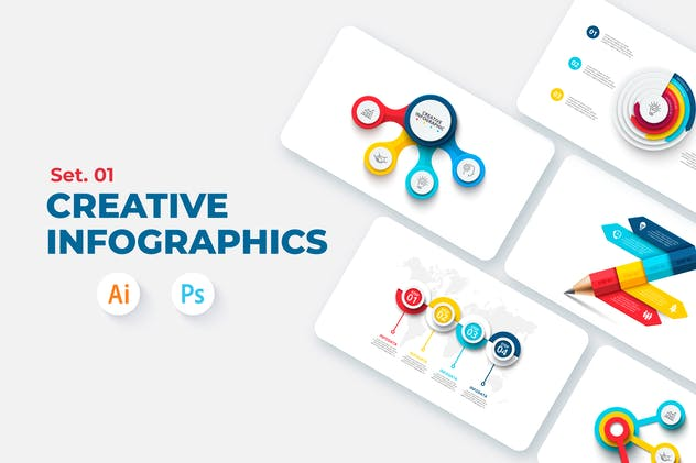 Creative Infographic Set 01