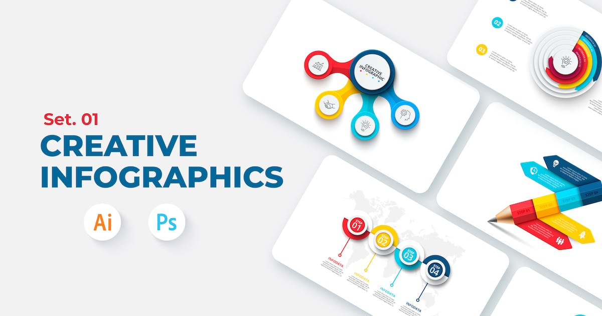 Download Creative Infographic Set 01 by Abert84