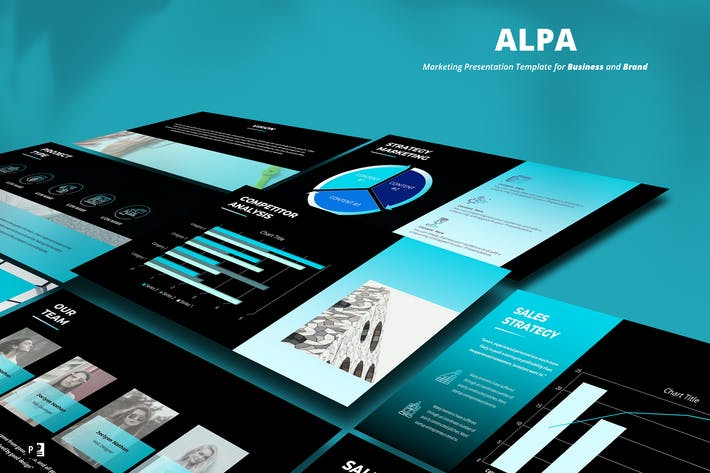 Thumbnail for Marketing Powerpoint Template