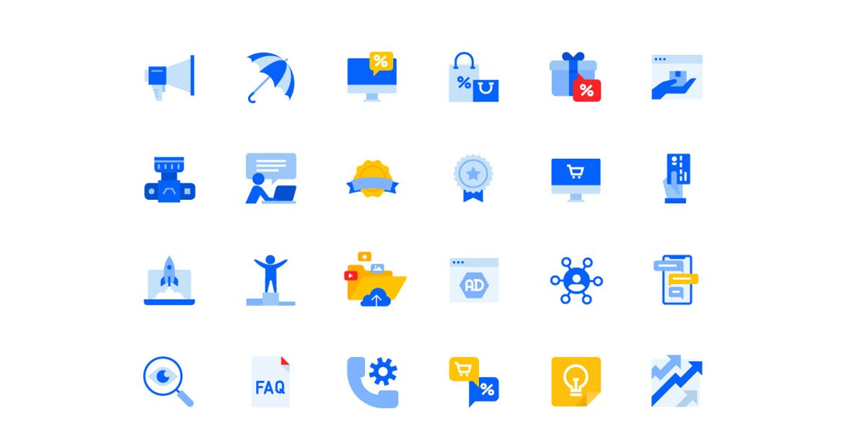 Download Social Network Icons Set by PureSolution