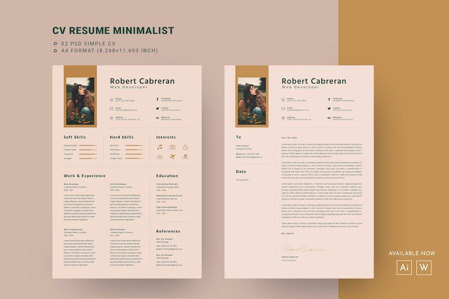 Modern CV Resume