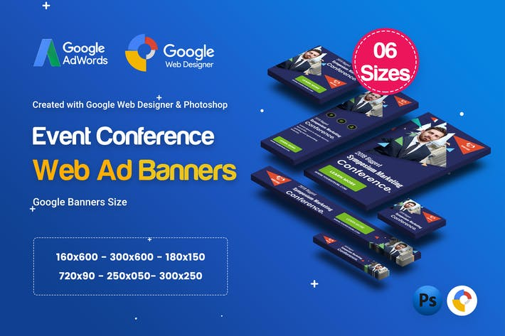 Thumbnail for C11 - Event Conference Banners GWD & PSD