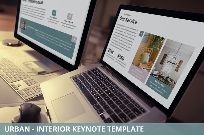 Thumbnail for Urban - Interior Keynote Template