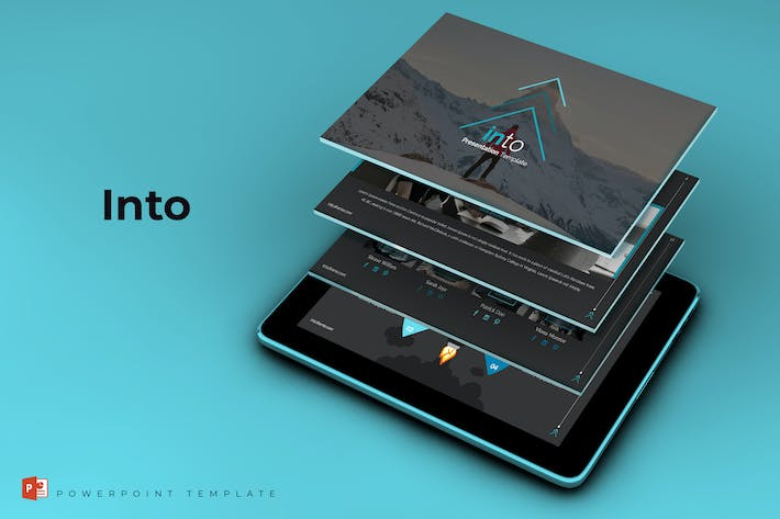 Thumbnail for Into - Powerpoint Template