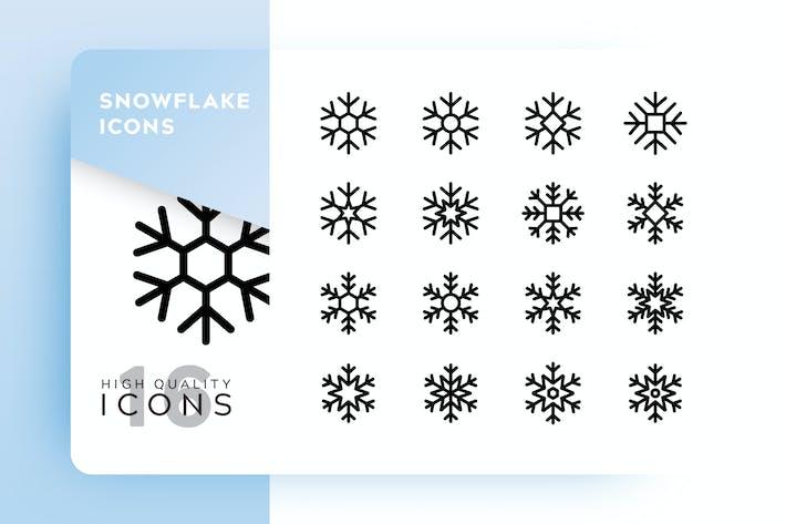 Thumbnail for SNOWFLAKE OUTLINE