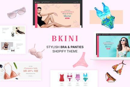 Бкини - Бикини Shopify Тема