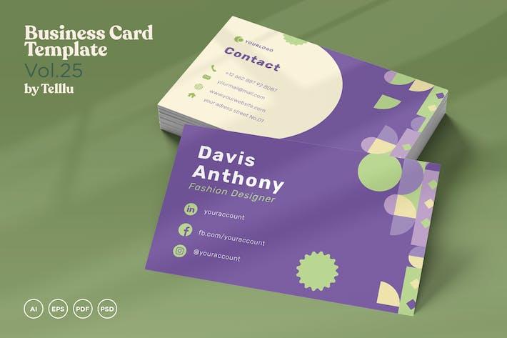 Thumbnail for Business Card Vol.25 Landscape & Portrait