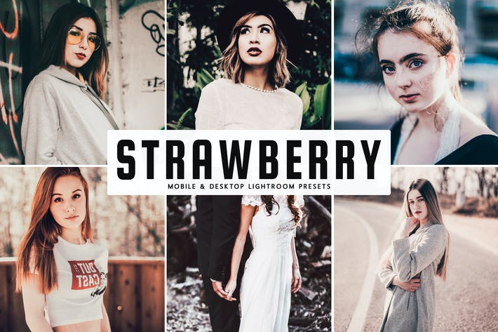 Thumbnail for Strawberry Mobile & Desktop Lightroom Presets