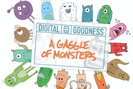 A Gaggle of Monsters