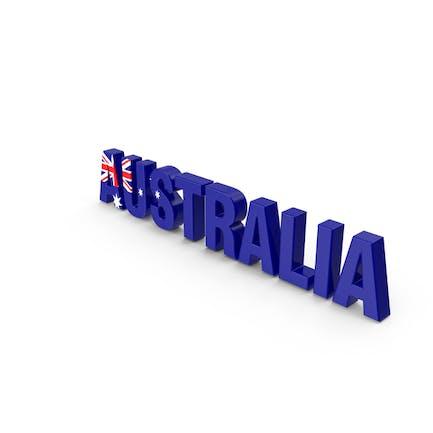 Australien Text