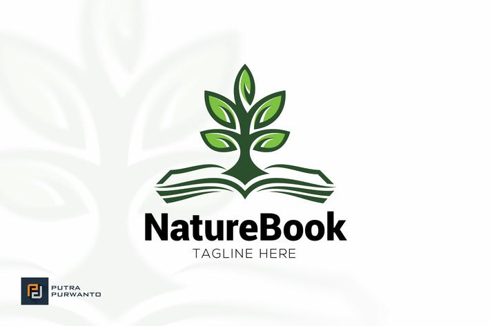 Thumbnail for Nature Book - Logo Template