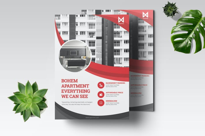 Thumbnail for Apartment Flyer Template
