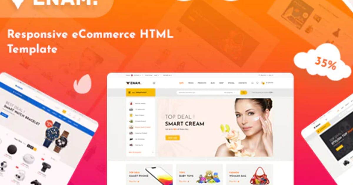 Download Venam - Multipurpose eCommerce HTML Template by ThemeBeyond