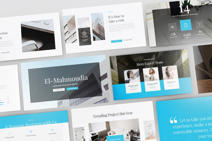Thumbnail for EL- MAHMOUDIA - Multipurpose Keynote Template V110