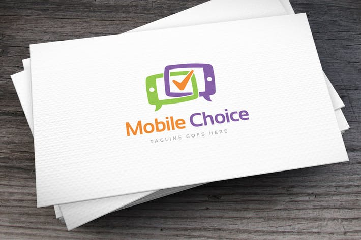 Thumbnail for Mobile Choice Logo Template