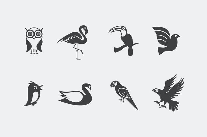 Thumbnail for 8 Bird Icons