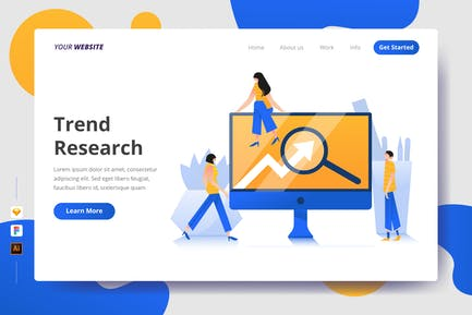 Trend Research - Zielseite