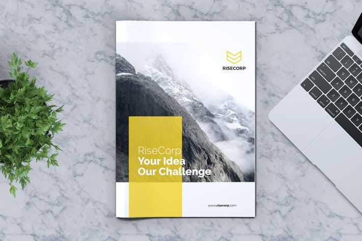 Thumbnail for Creative Brochure Template Vol. 17
